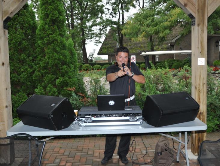 DJ, Patrick Wasiuk keeps us rocking through lunch