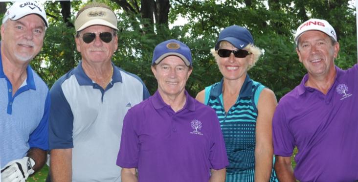 Ken Hewitt, Robert Turnbull, Liz Walters & Denis Masse with Sandy Hawley