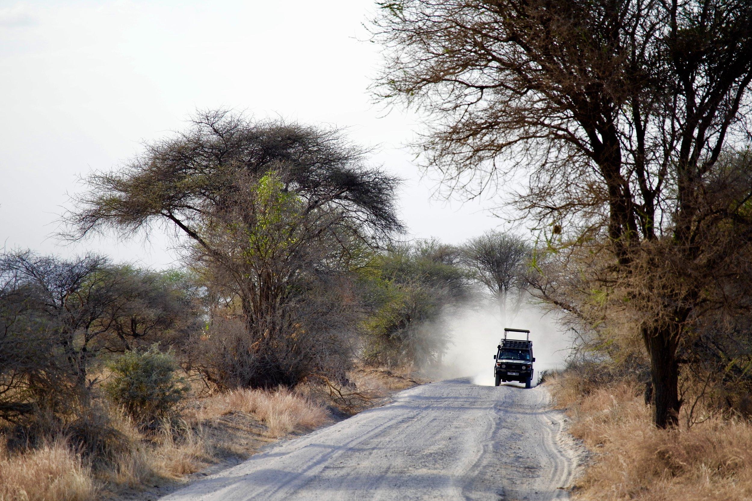 A 4x4 in Tanzania