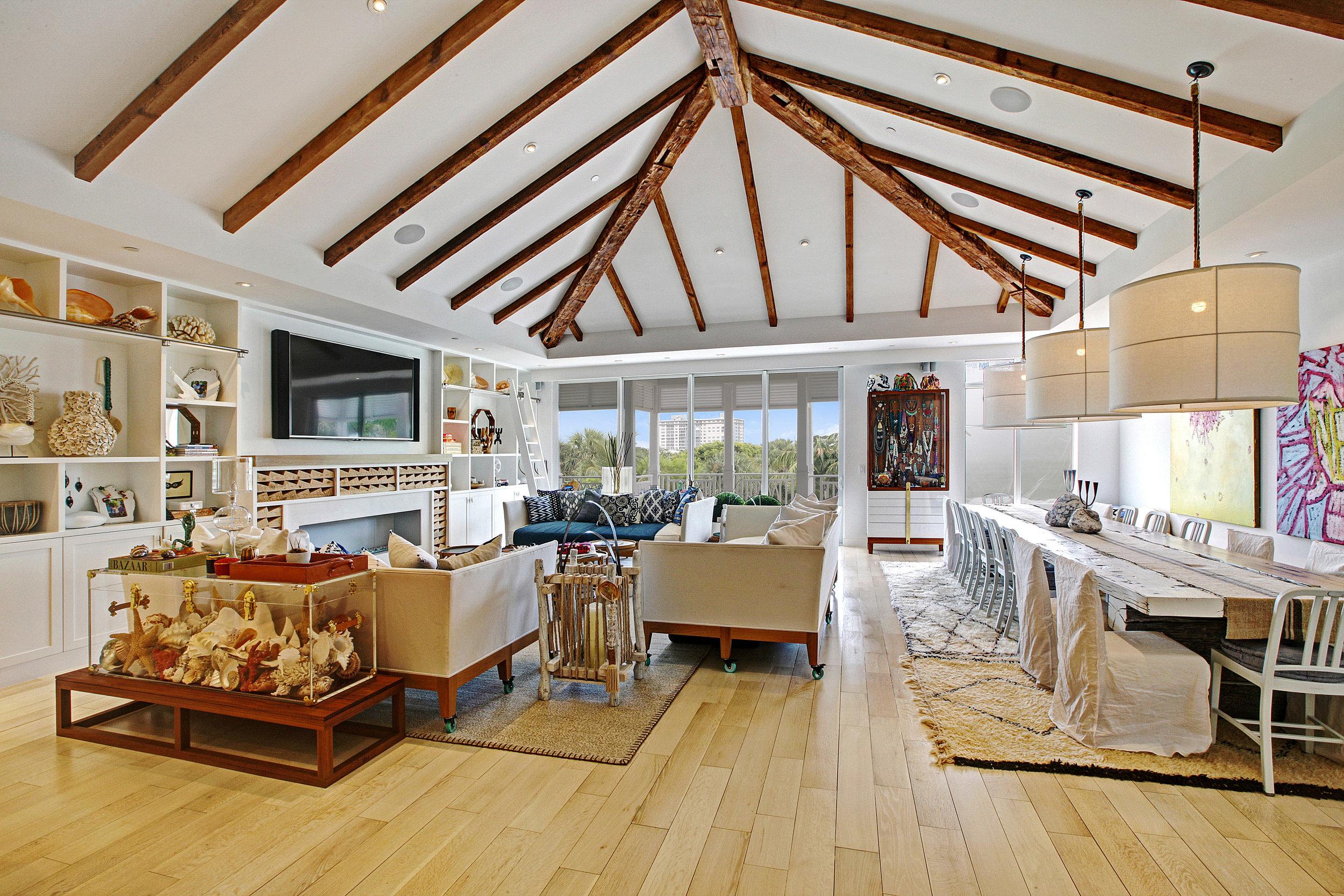 Custom Condominium | Delray Beach, FL  Architect | Gary Eliopolis  Interior Designer | The Brooklyn Home Company   View Project