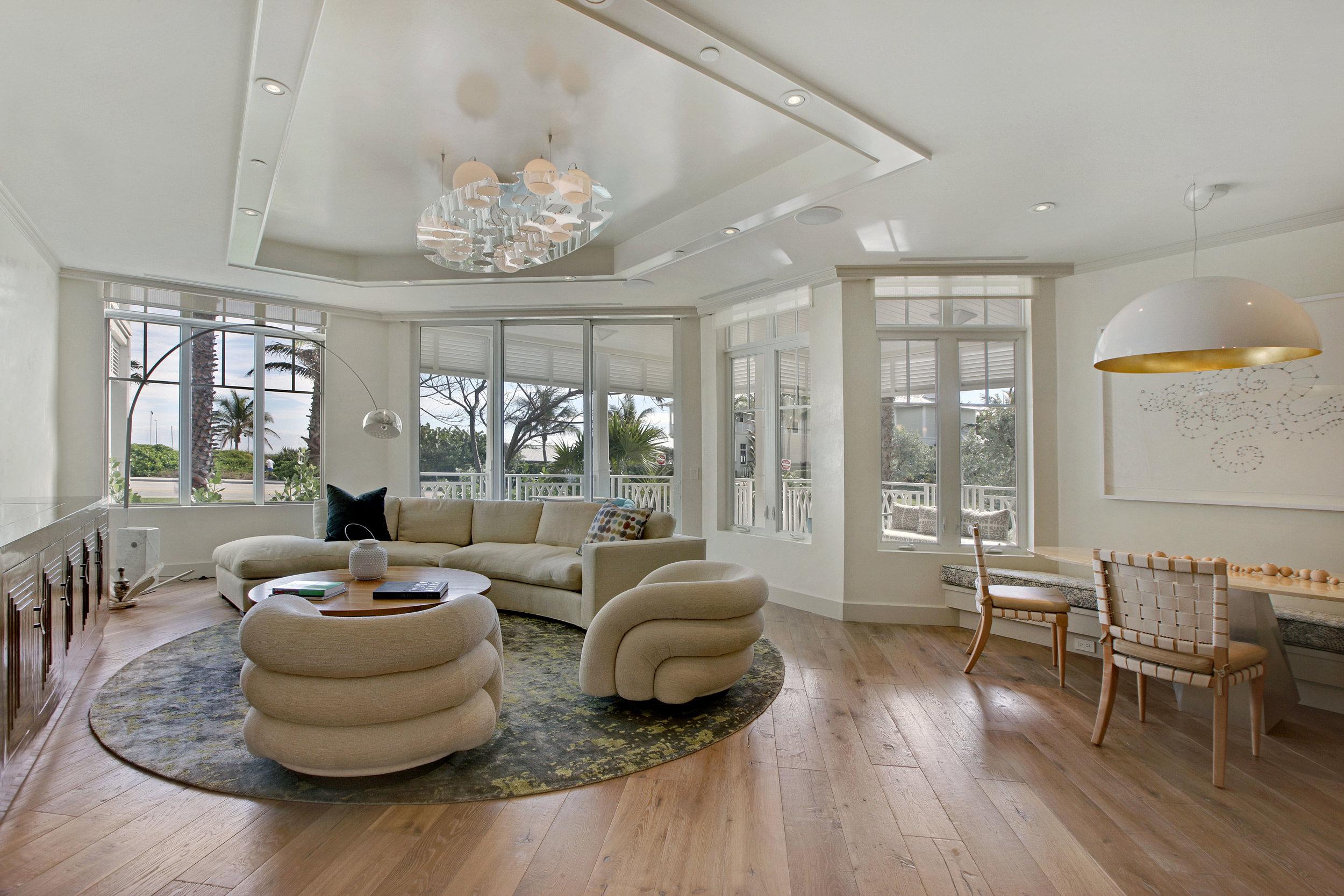 Custom Condominium | Delray Beach, FL  Architect | Randall Stofft  Interior Designer |Tricia Huntley   View Project