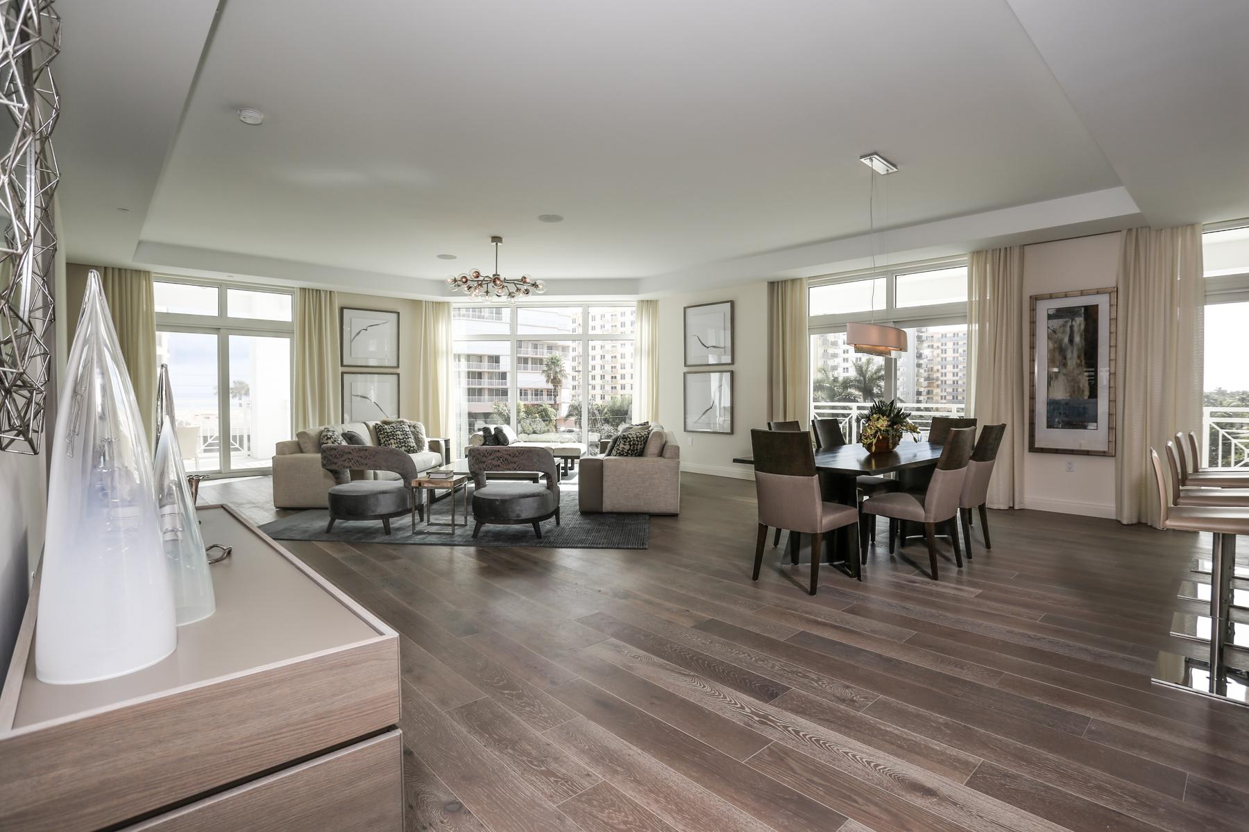 Custom Condominium | Highland Beach, FL  Architect | Kobi Karp  Interior Designer | Leighton Design Group   View Project