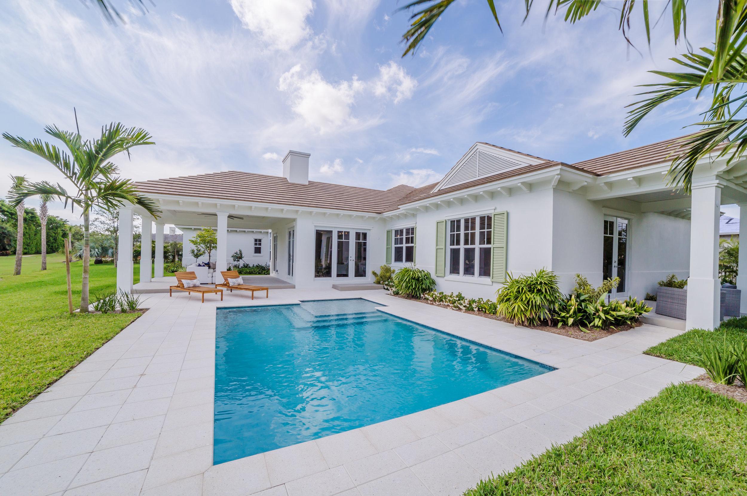 Custom Home   Delray Beach, FL  Architect: Richard Jones  Designer: Leighton Design Group   View Project