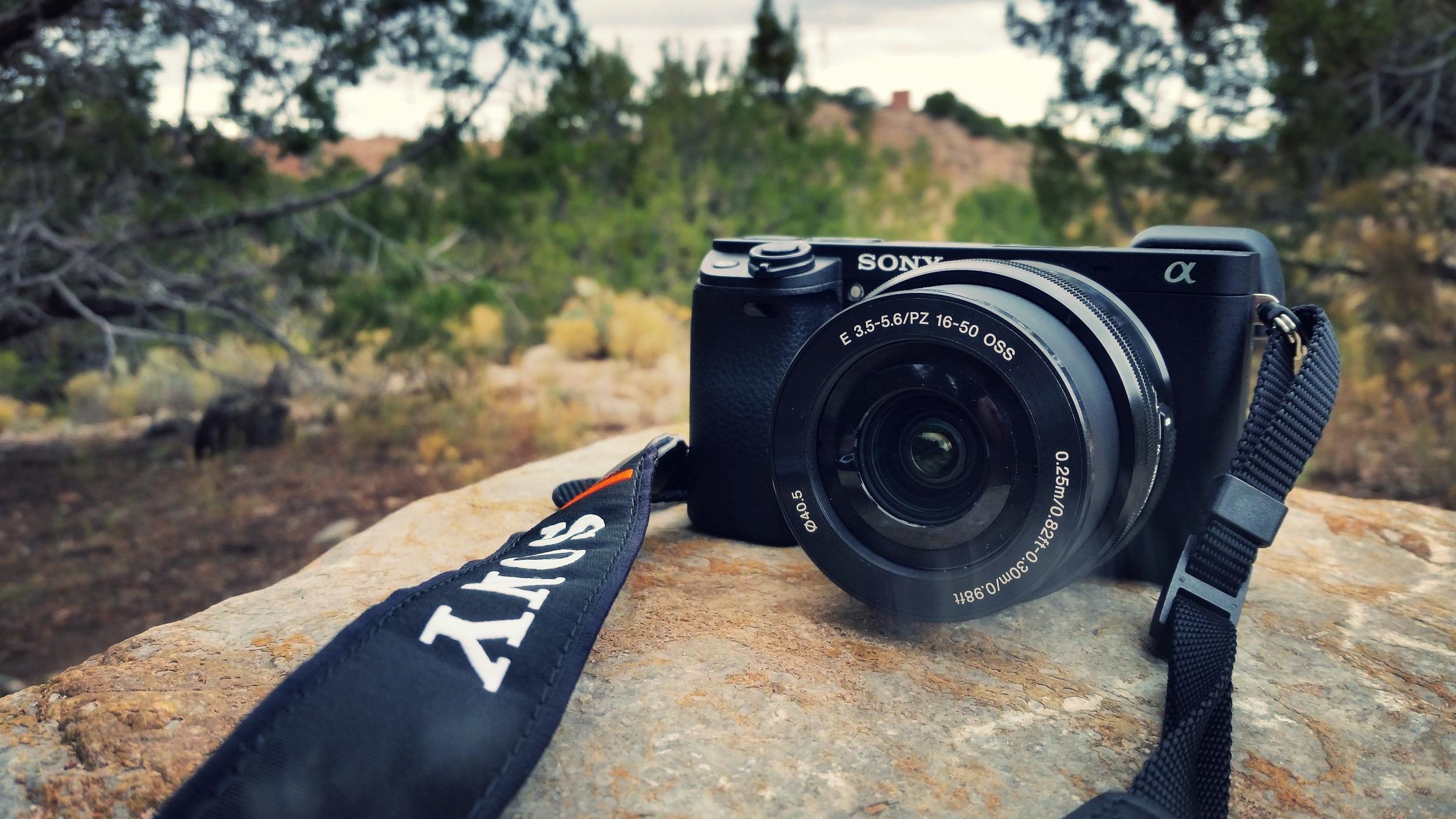 AJ's weapon of choice: the Sony Alpha A6300