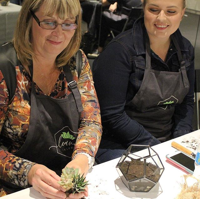 We're getting ready for this weekends Mother's Day workshops and we're so excited!  What do you have planned for your Mom? 👩👧👦🌱 #terrariums #succulents #mothersday #toronto #torontomothersday #datenight #girlsnightout #plants #greenthumbs