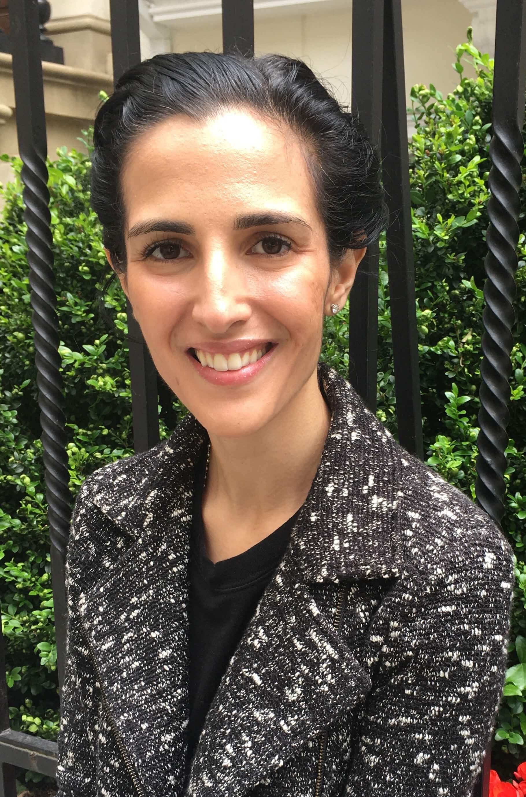 Headshot of Hannah Darwazah M.A.
