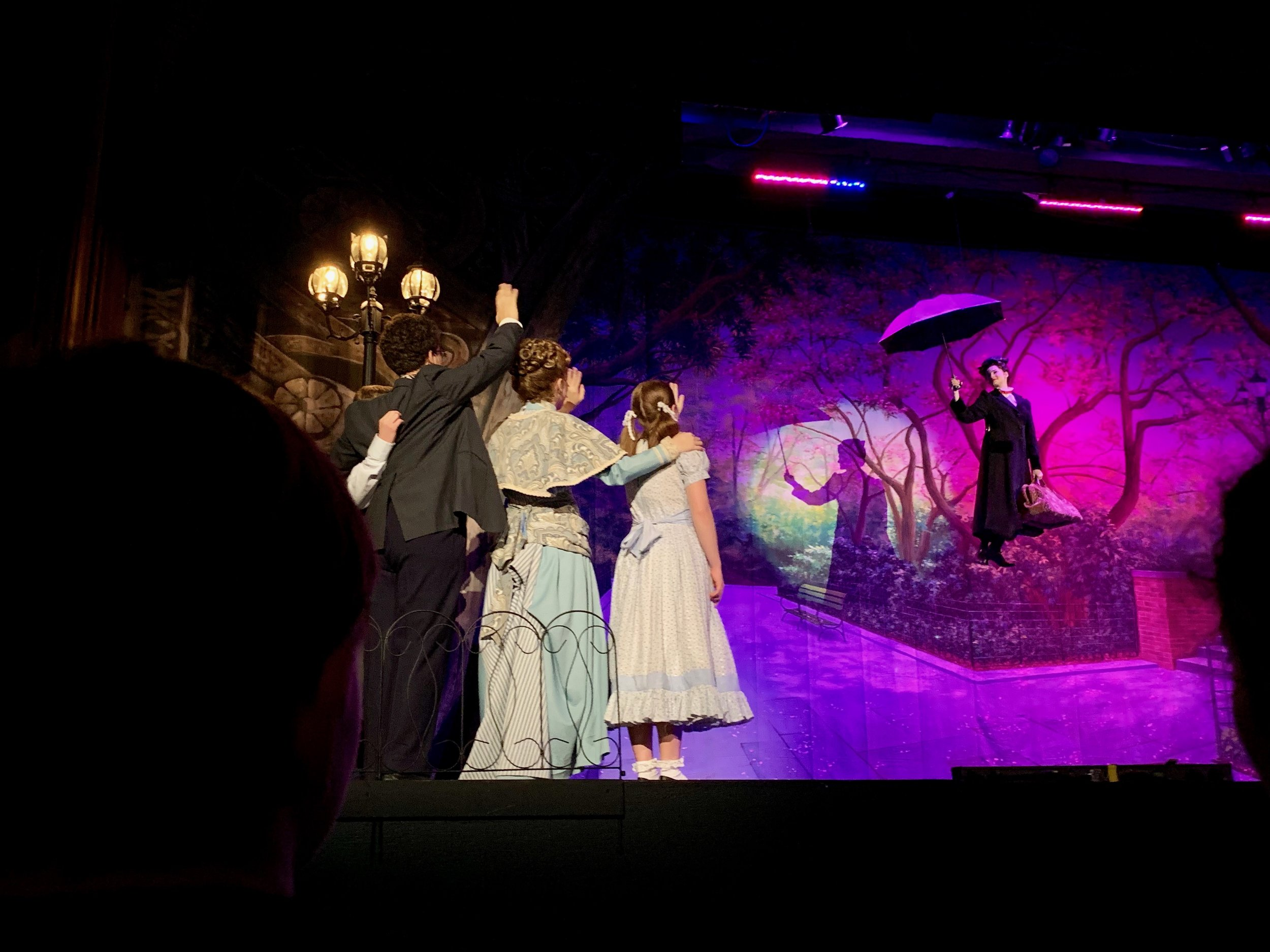 Mary Poppins at Columbia High School