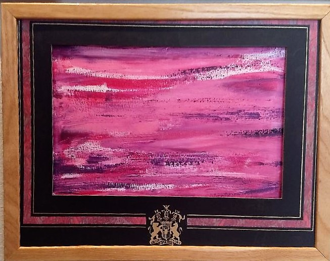 Horizon in Pink