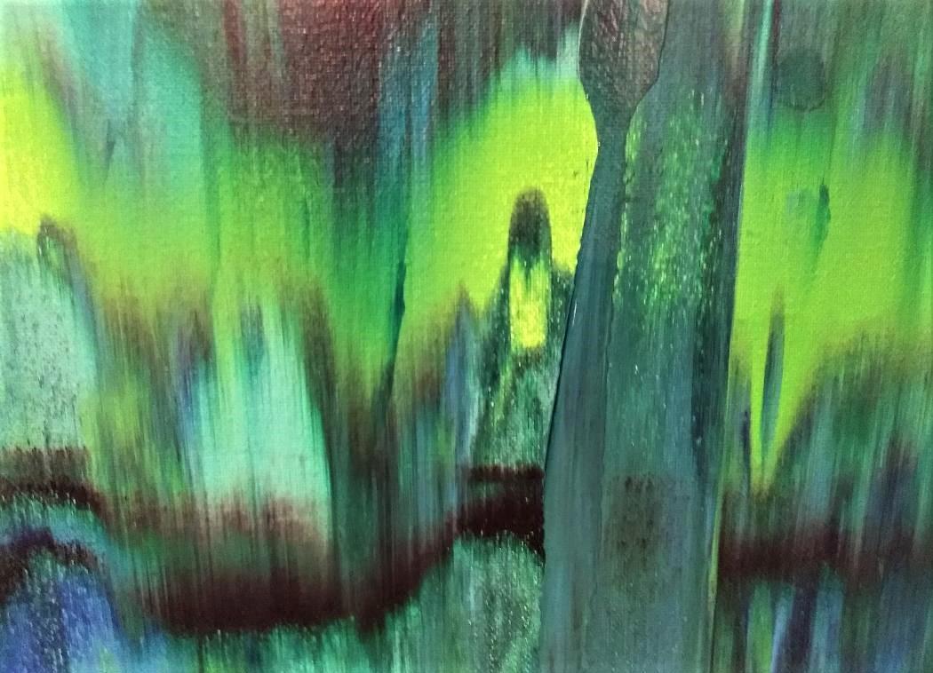 Little Girl Green - Detail