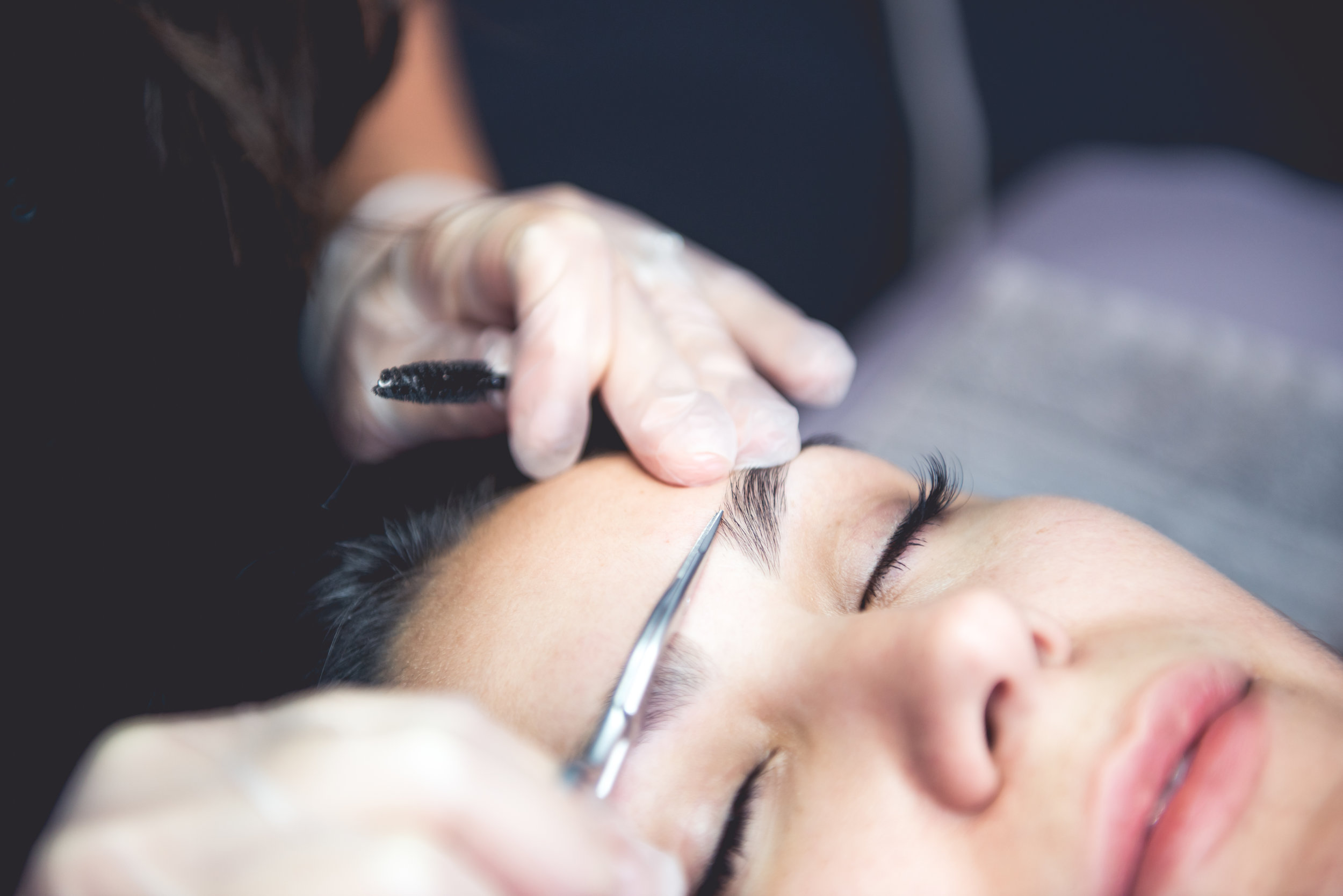 Eyebrow waxing services at Wax That, waxing in Austin Texas