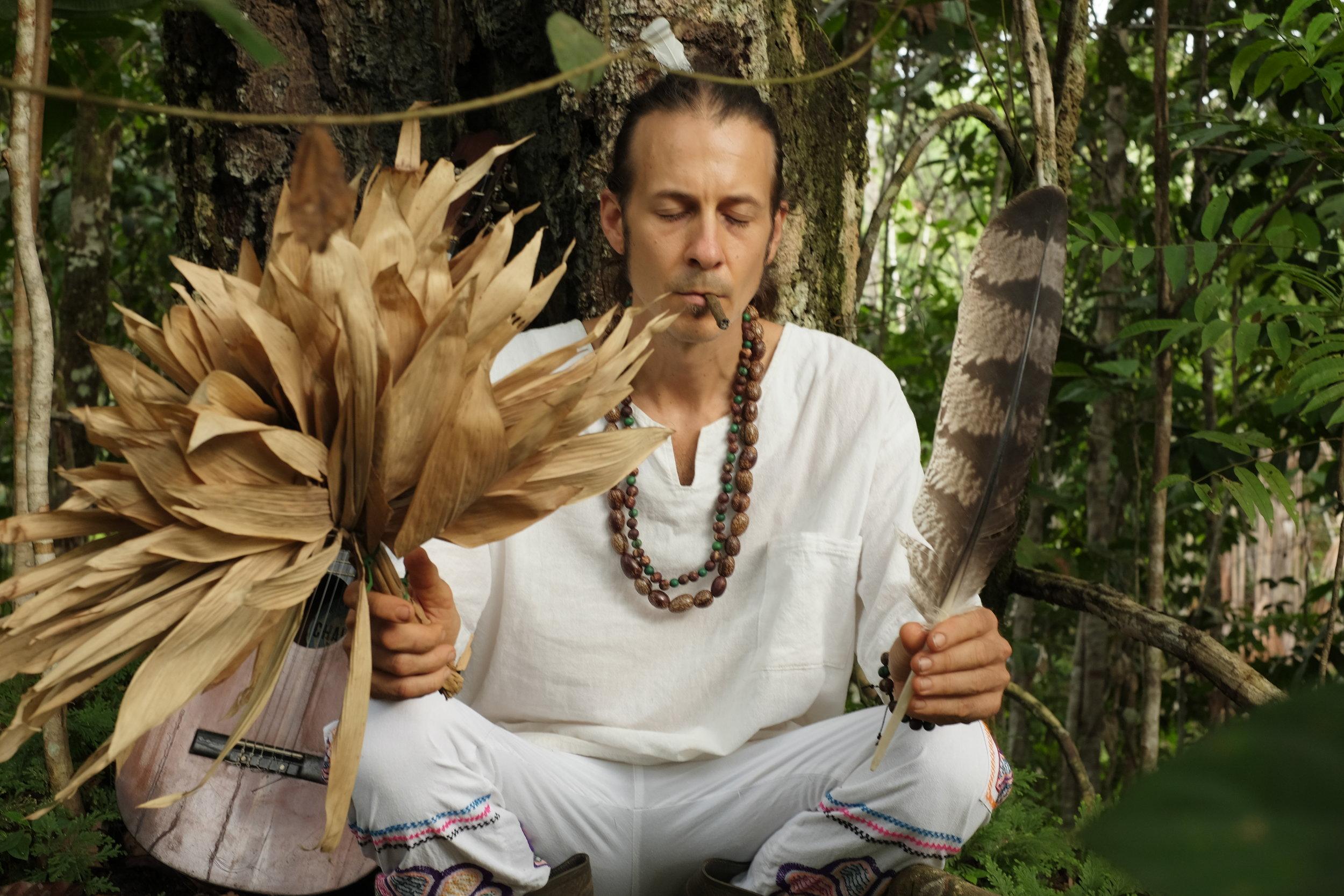 Healer, Ayahuascero & Shamanic Practitioner