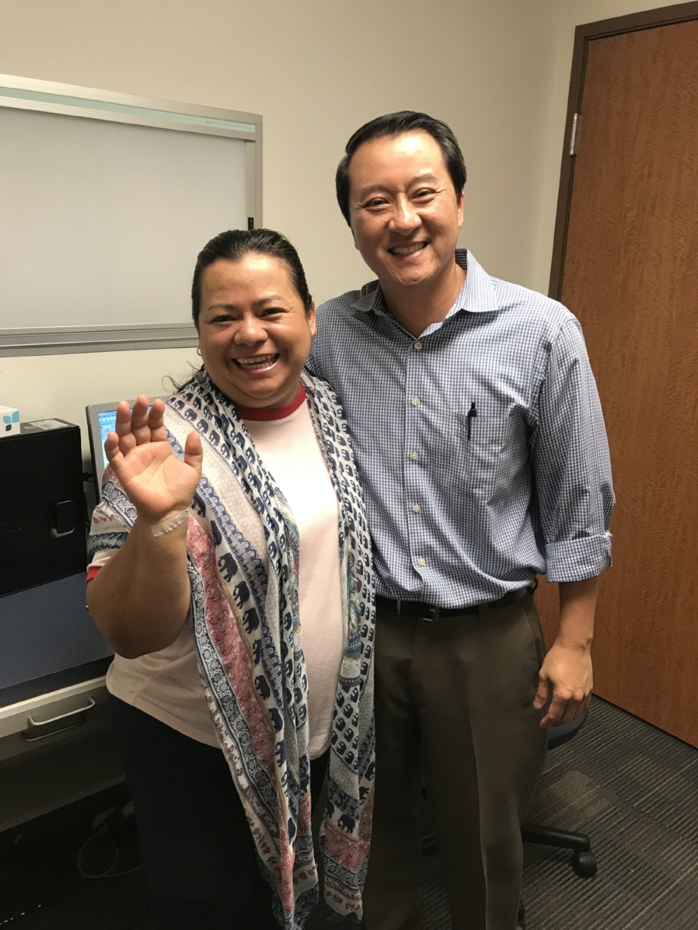 Beatriz Ramirez & Dr. Dinh.JPG