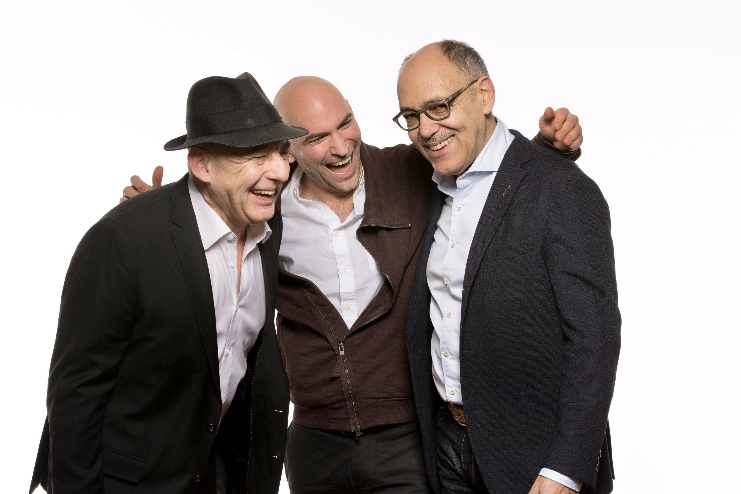 Storydealer Berlin   Heidelberg - Dr. Hans Geisslinger//Stefanos Pavlakis//Dr. Hans Rudi Fischer