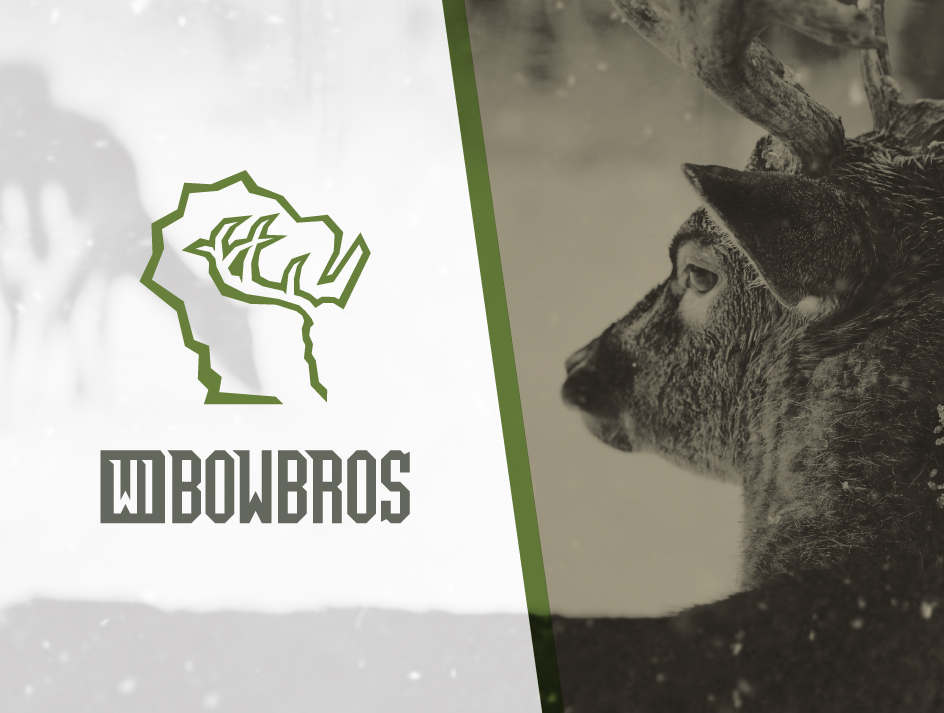 BRAND IDENTITY / VIDEO / PACKAGING   WI BOW BROS  Wisconsin Bow Bros is a hunting outfitter based out of Manitowoc, WI. The brand portrays a rugged, professional, and unique company that is passionate about the hunting lifestyle.