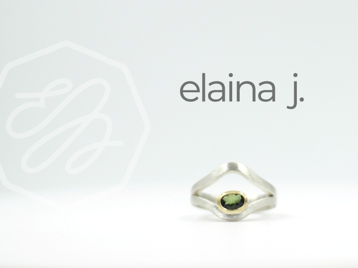BRAND IDENTITY / VIDEO + PHOTO / PACKAGING   ELAINA J. JEWELRY  Elaina J. Jewelry is a hand-crafted jewelry line located in Manitowoc, WI. Each piece is sketched, designed, and created by hand. They pride themselves on authenticity and clarity in their pieces.