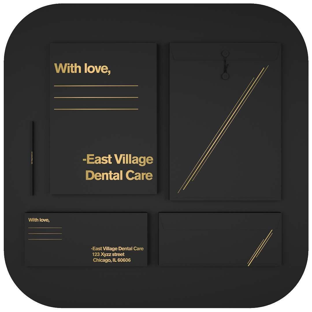 Branding East Village Dental Care #1 Boring Graphics.jpg