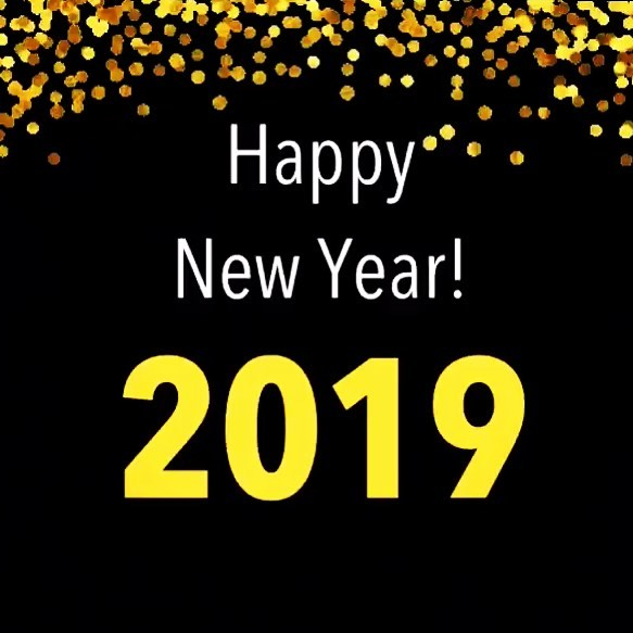 Wishing everyone a safe and Happy New Year!
