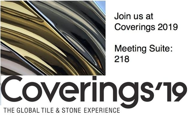 Join us at THE GLOBAL TILE & STONE EXPERIENCE Orlando - April 9-12 #Coverings2019 #Coverings