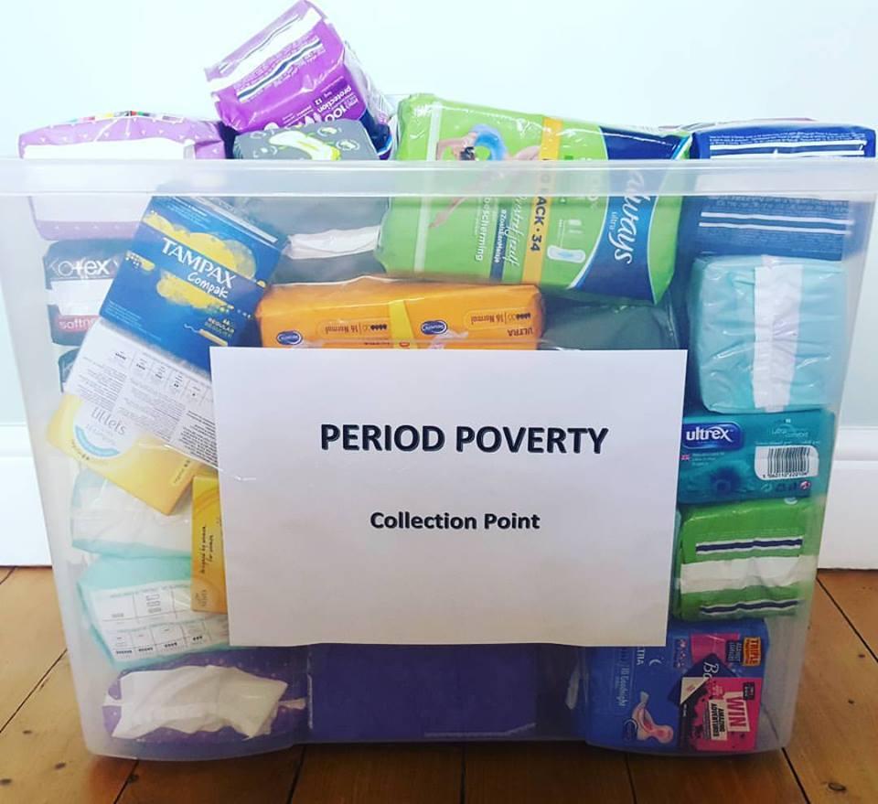 Leith Academy collection box