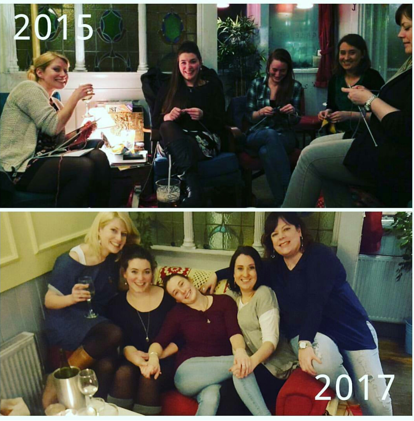 The day we met and our last day all together