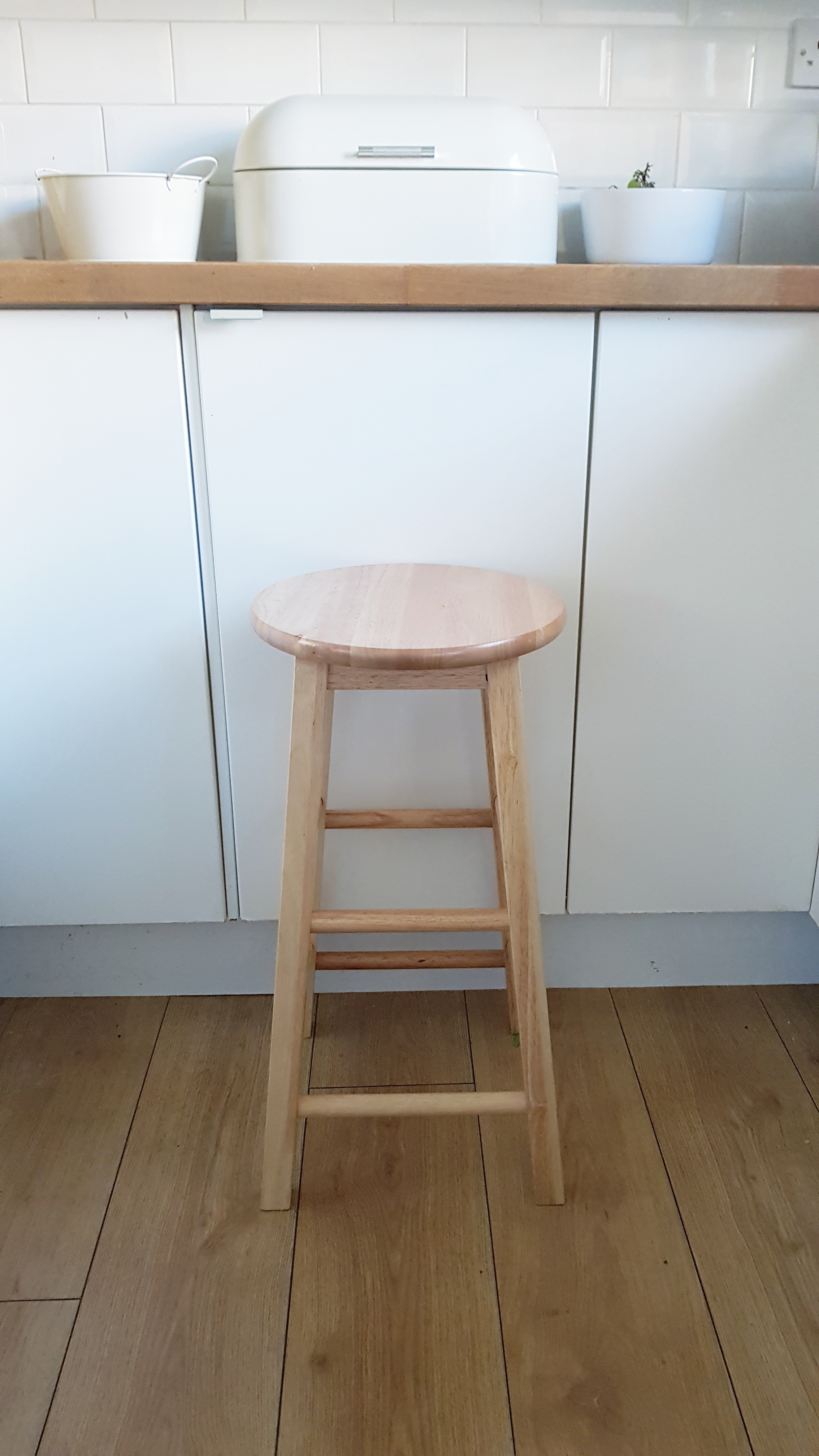 A stool might not be everybody's idea of self-care but it has definitely made a difference to what I can manage.