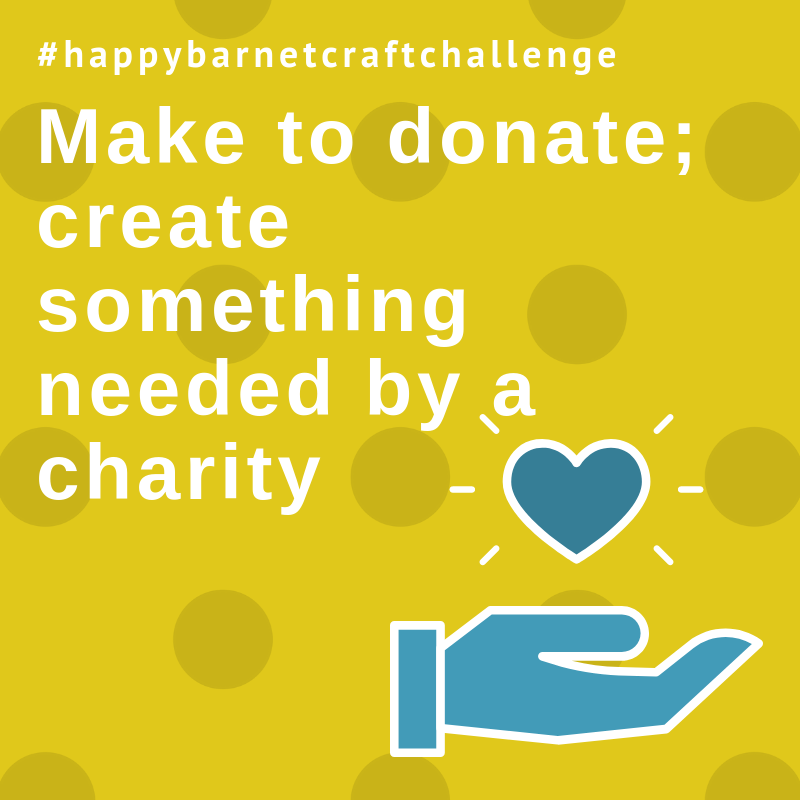 make to donate craft challenge