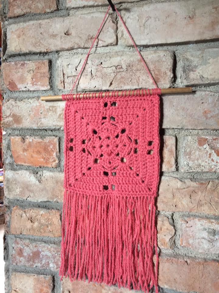 Rhoda's Crochet Wall Hanging