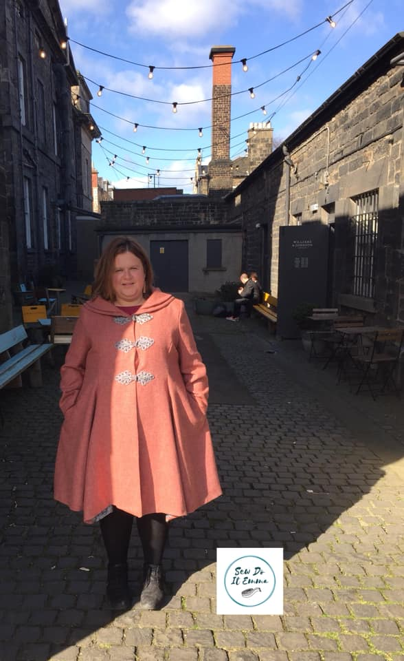 Coral Coat by Sew do it Emma