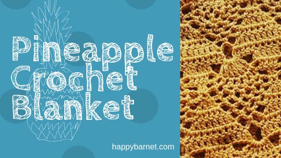pineapple crochet blanket pattern