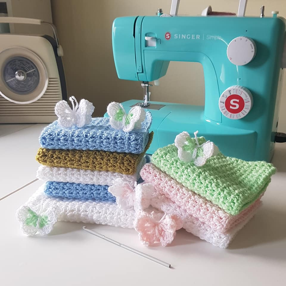 Crochet Blankets and Butterflies for SiMBA