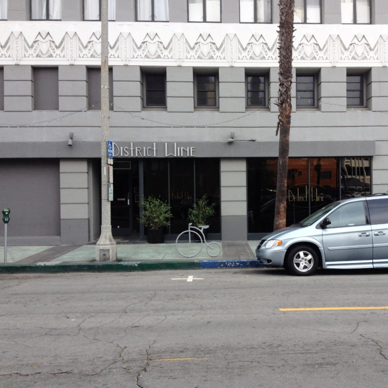 District Wine's Parklet before