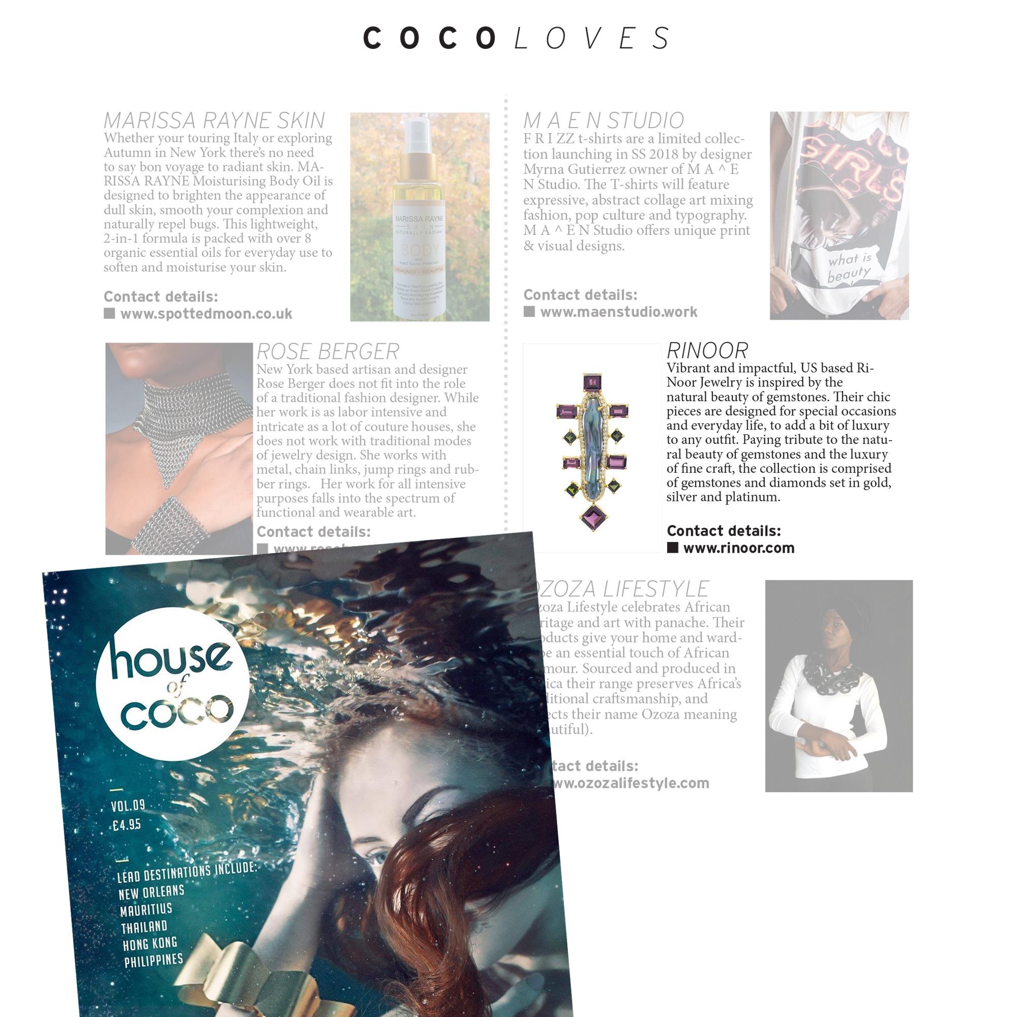 House of Coco, Volume 9