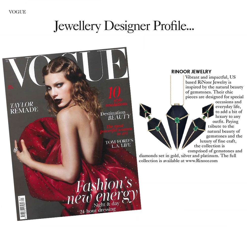 Vogue UK, January 2018