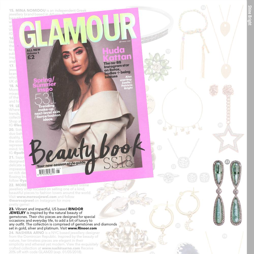 Glamour UK, April 2018