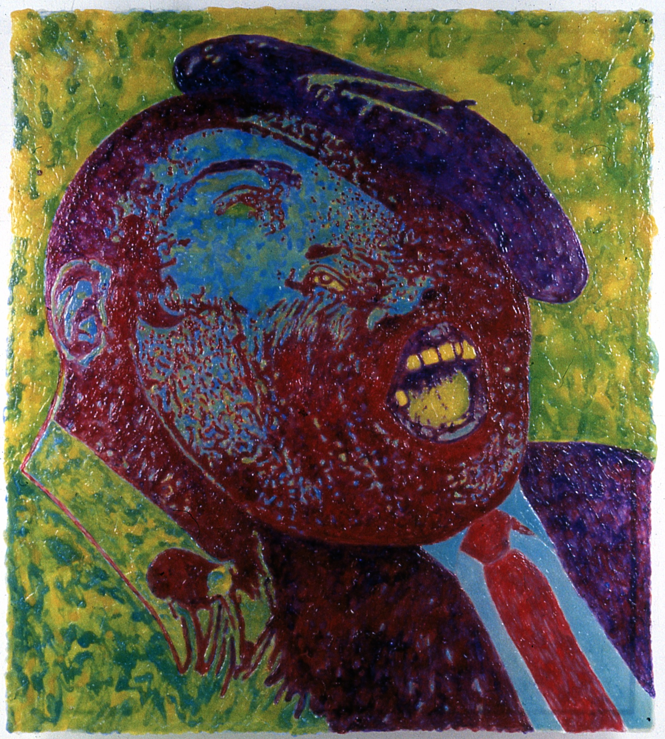 Blues Head XII