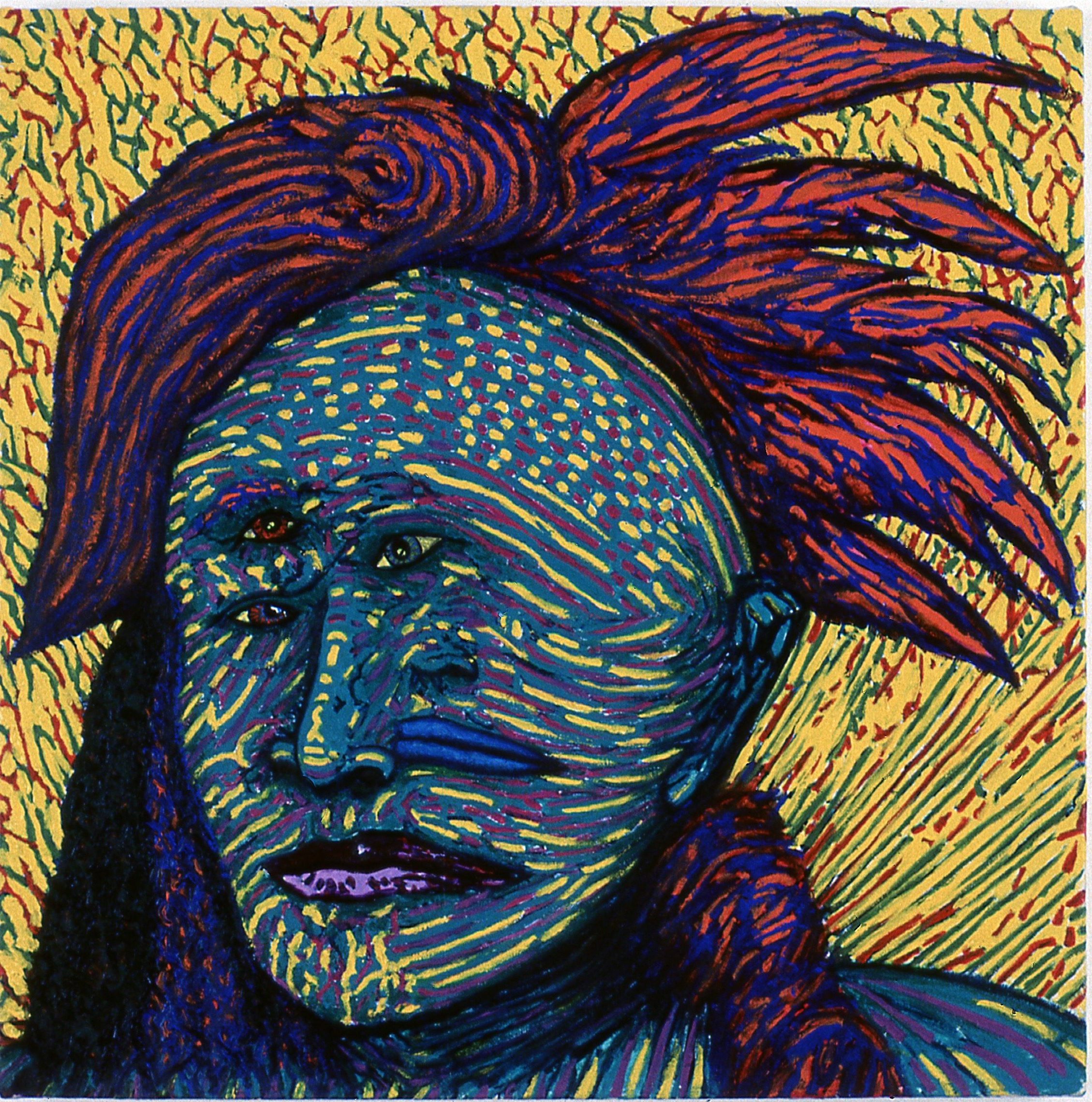 Tribal Head XV