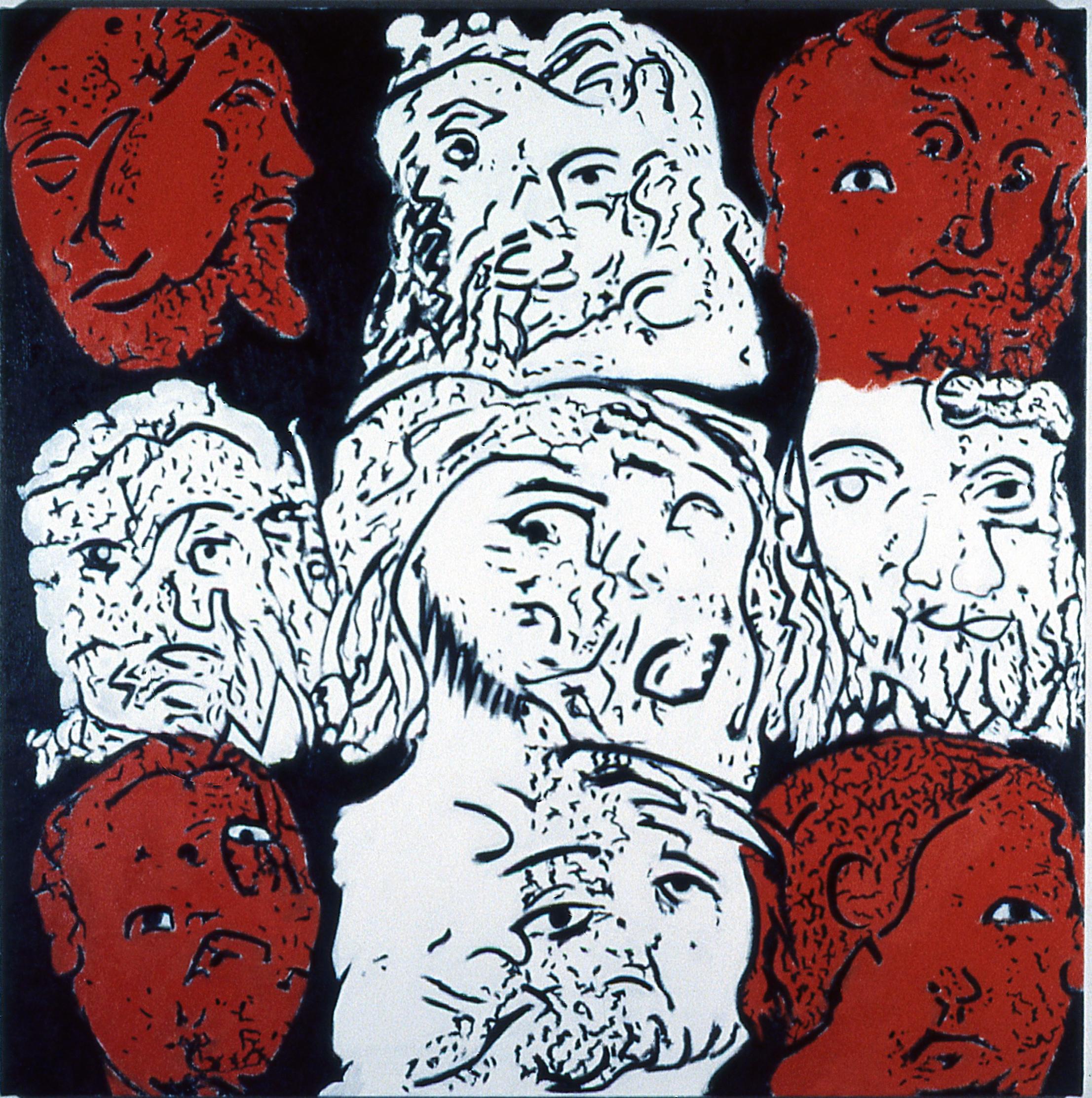 Heads of Christ II