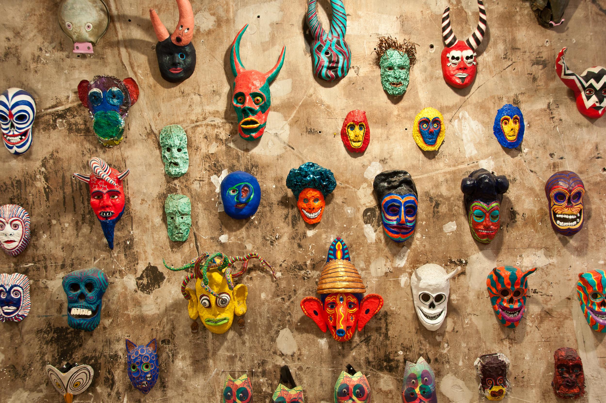 Jeff's mask wall