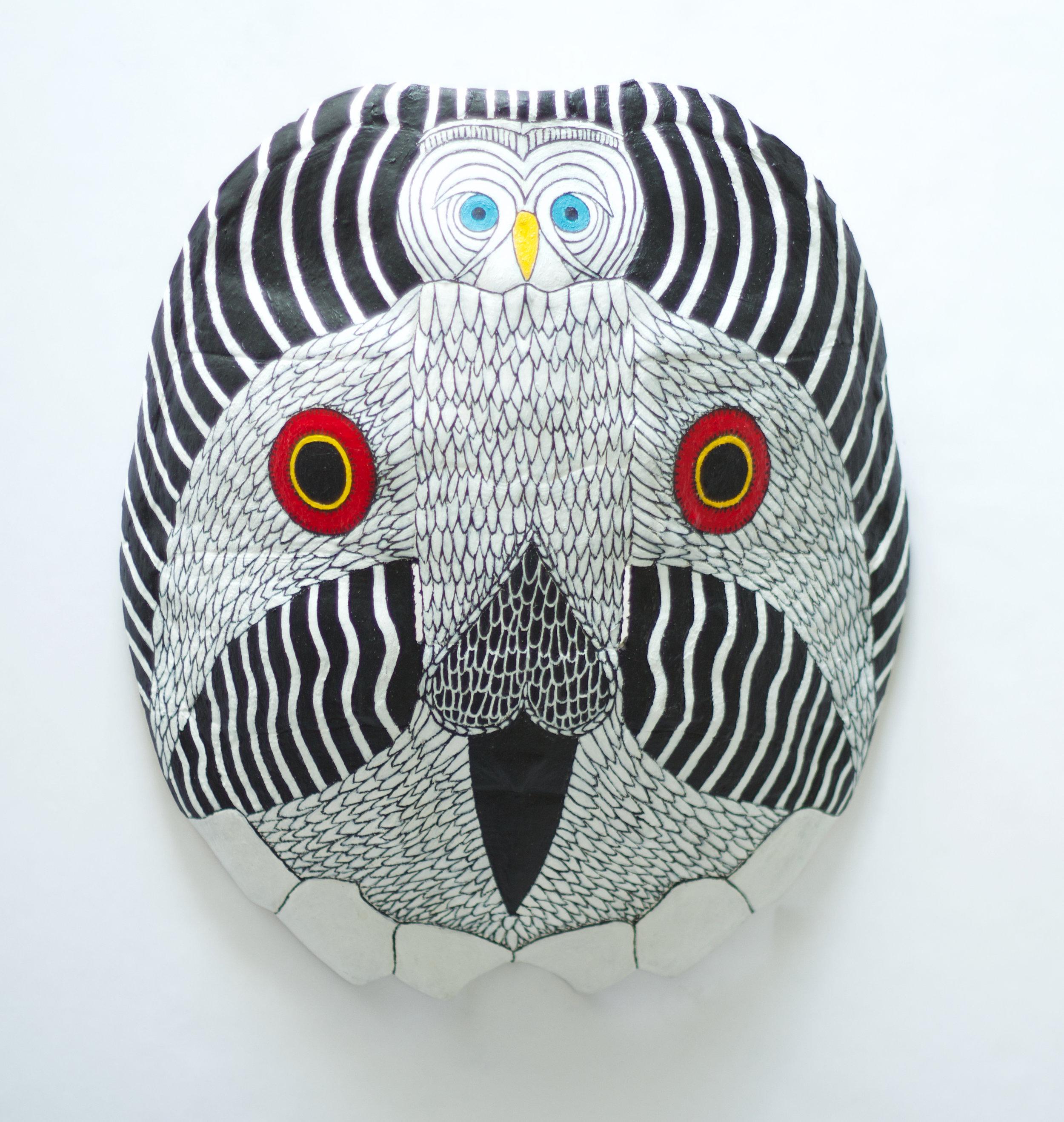 Turtle Owl Death Mask