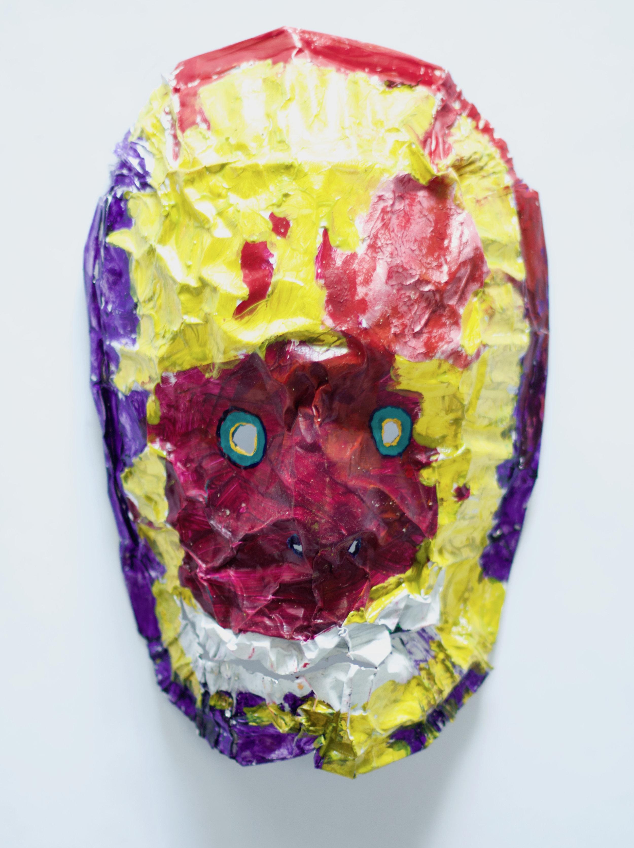 Painters Palette Zombie Mask