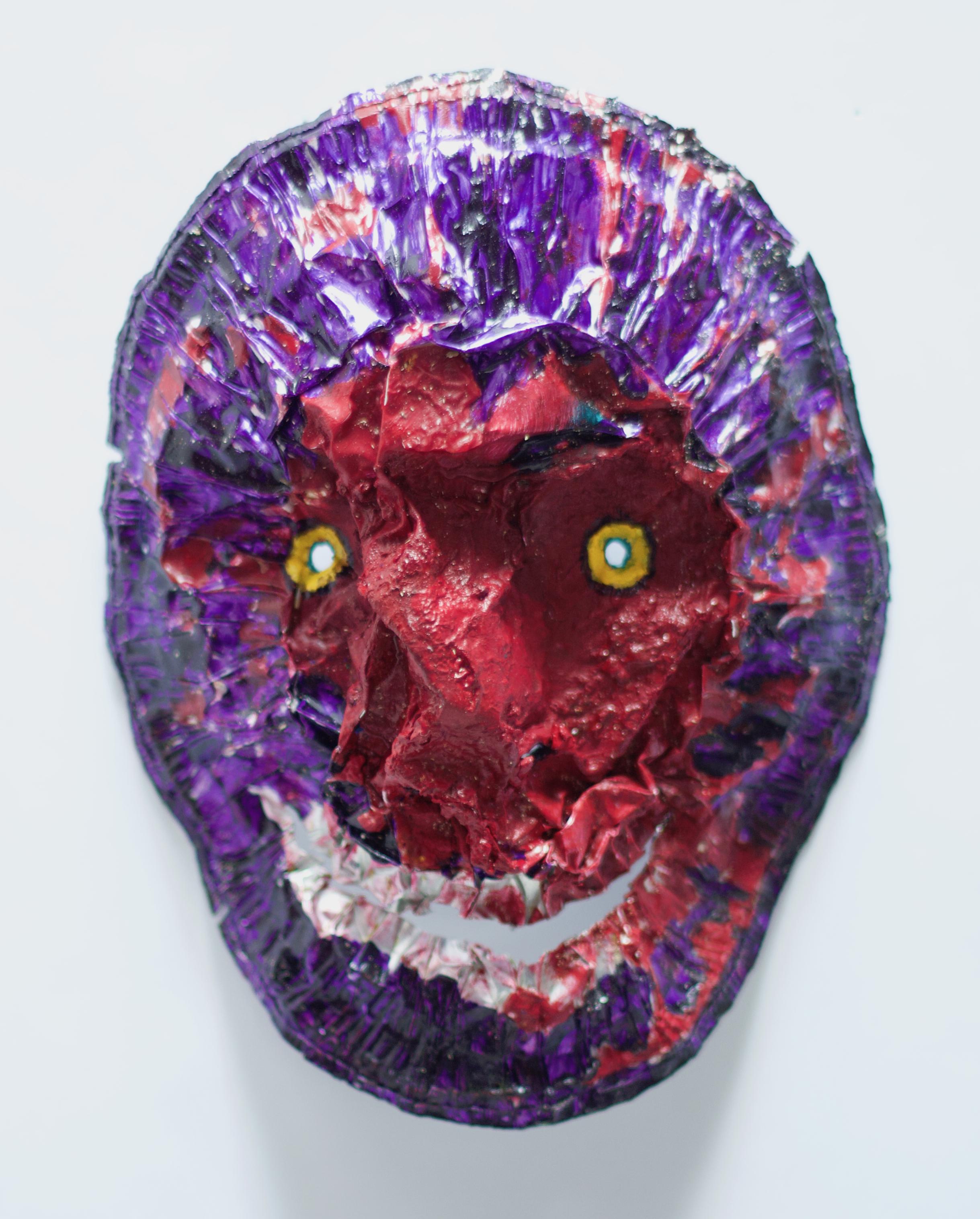 Painters Palette Zombie Mask 3