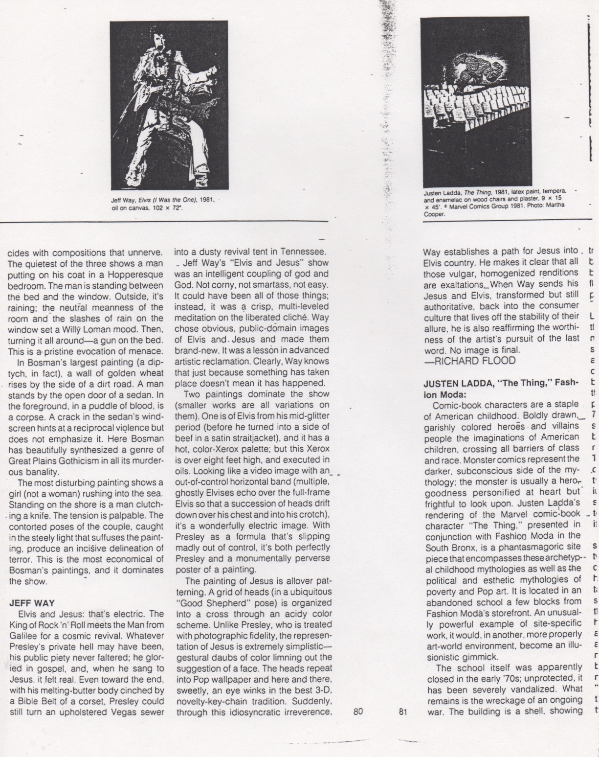 Flood Richard, Artforum, January 1982