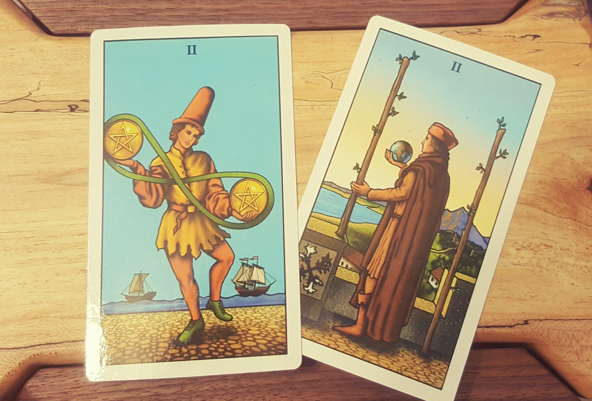 2 Card Spread