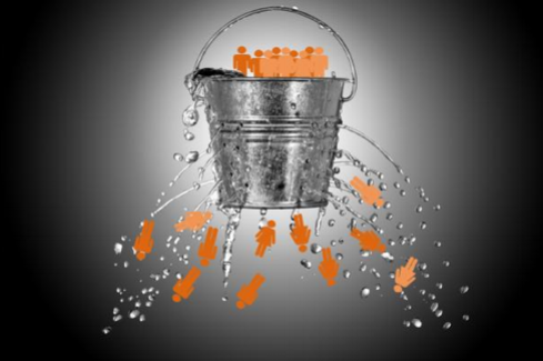 Your funnel isn't broken. All funnels are broken.  Image via Marina Glogovac.