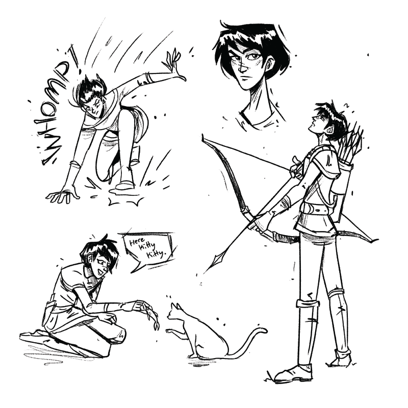 Gale Character Doodles