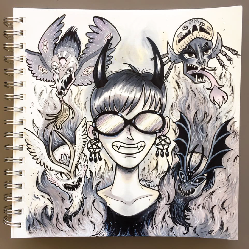 Magen Demon Sketches