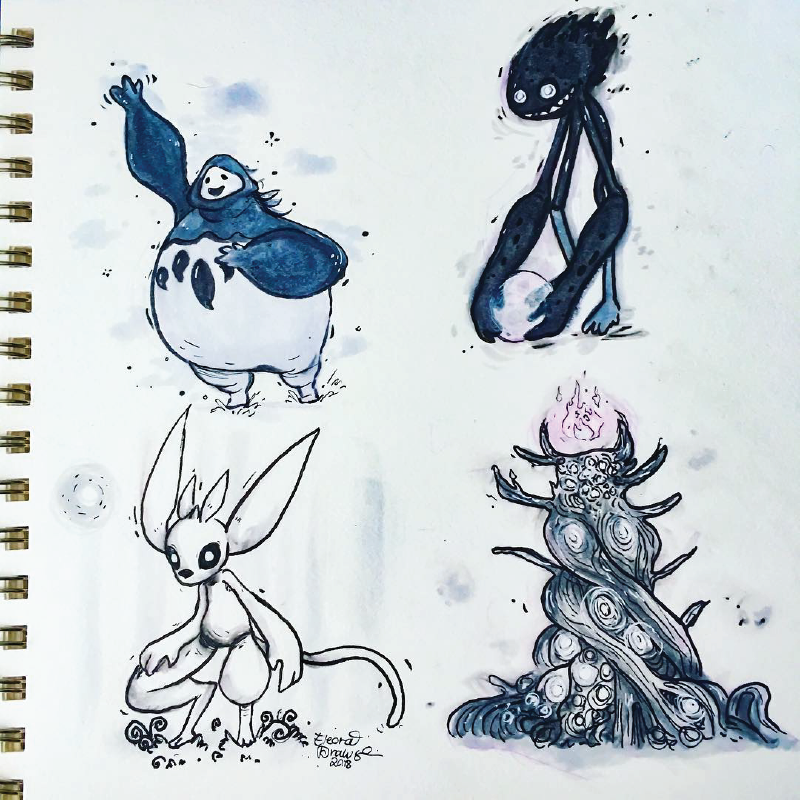 Ori and the Blind Forest Characters