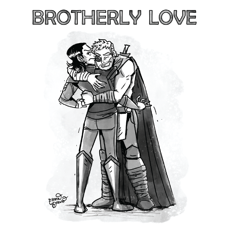 Thor and Loki - Brotherly Love
