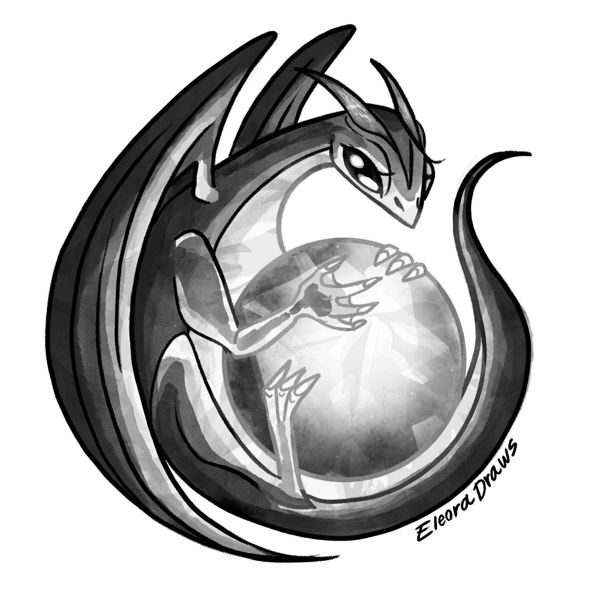 Dragon Single Sticker white.png