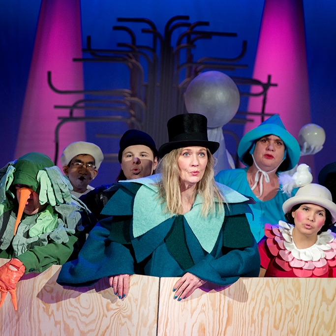 Resan till Melonia (2015)  Tailor Theatre play, Moomsteatern Malmö.